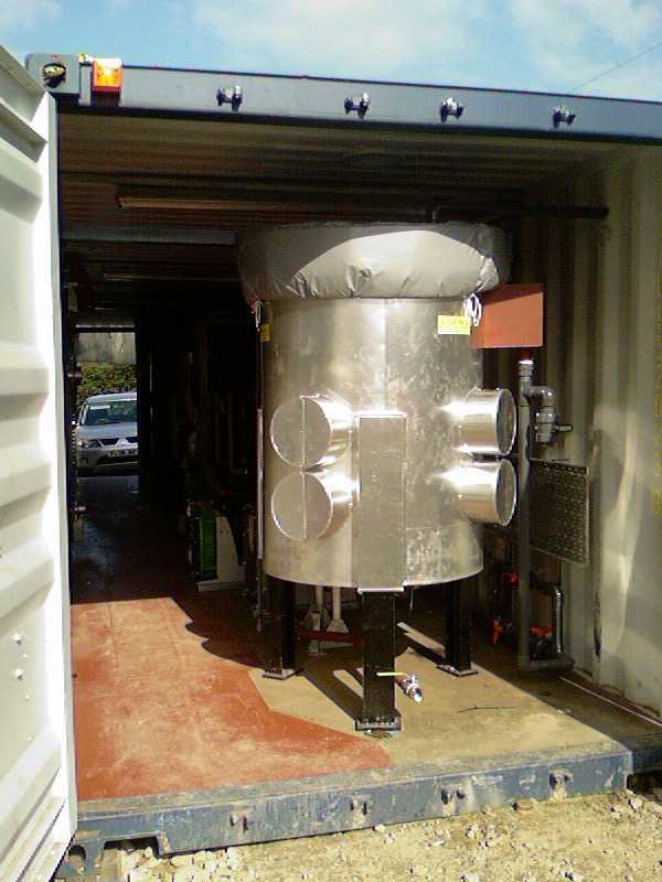 Aluminium Cladding Without Silicon : Insulation process pot with aluminium and silicon